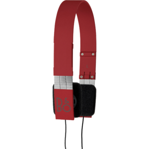 B&O Play Form 2i On Ear Headphones - Red | Simcoe Audio Video
