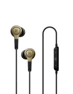 B&O Play H3 In Ear Headphones - Champagne | Simcoe Audio Video